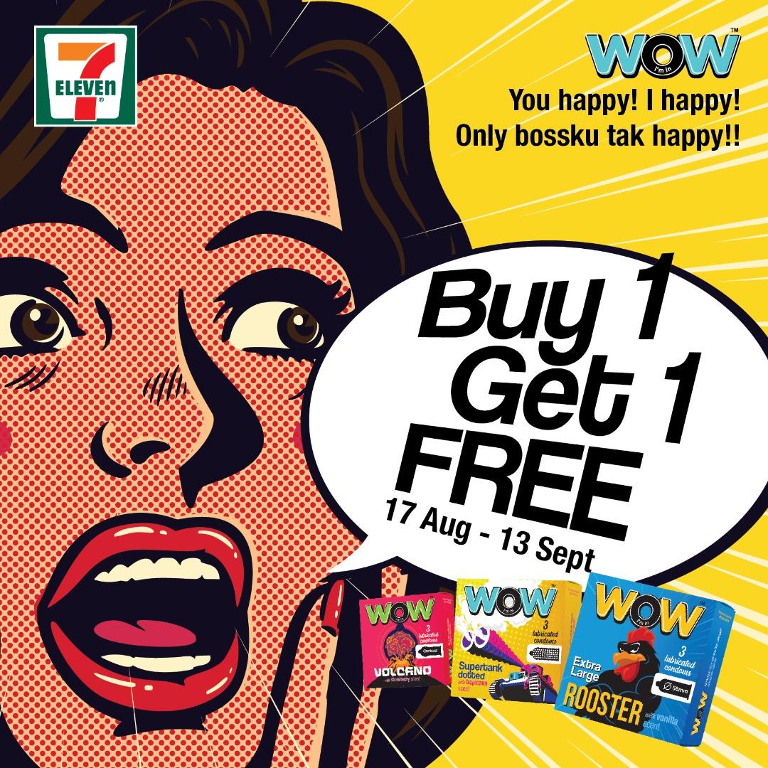 Buy 1 Free 1 @ 7Eleven